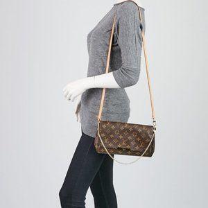 Louis Vuitton Bags - Auth Louis Vuitton Favorite MM Monogram Crossbody